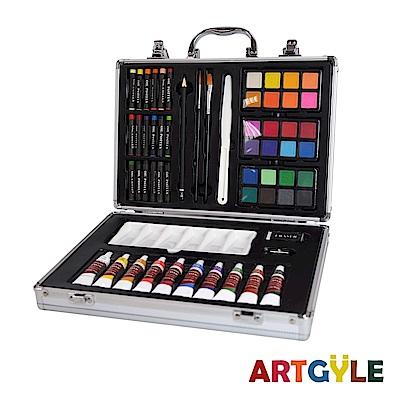 美國ARTGYLE 鋁盒繪畫綜合套組(60PCS)