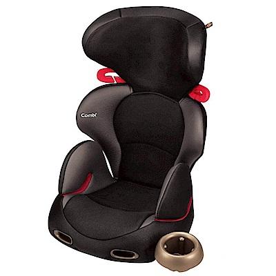 (買就送10%超贈點)【Combi 康貝】New Buon Junior EG 成長型汽車安全座椅 (風尚黑)