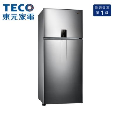 TECO 東元 610公升 一級能效變頻雙門冰箱 (R6191XH)