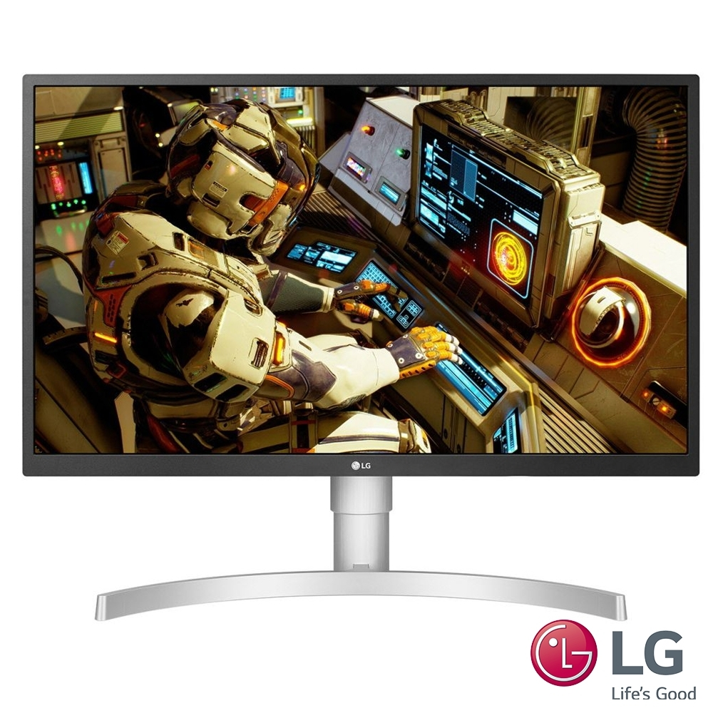 LG 27吋AH-IPS 4K 廣視角電競螢幕27UL550-W