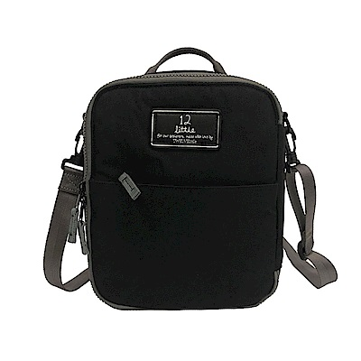 TWELVElittle ADVENTURE 美國防潑水保冷袋 保溫袋 便當袋(簡約黑)