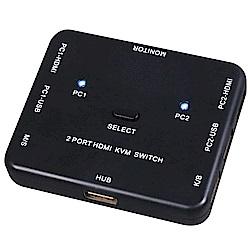 伽利略 HDMI KVM 電腦切換器 2埠
