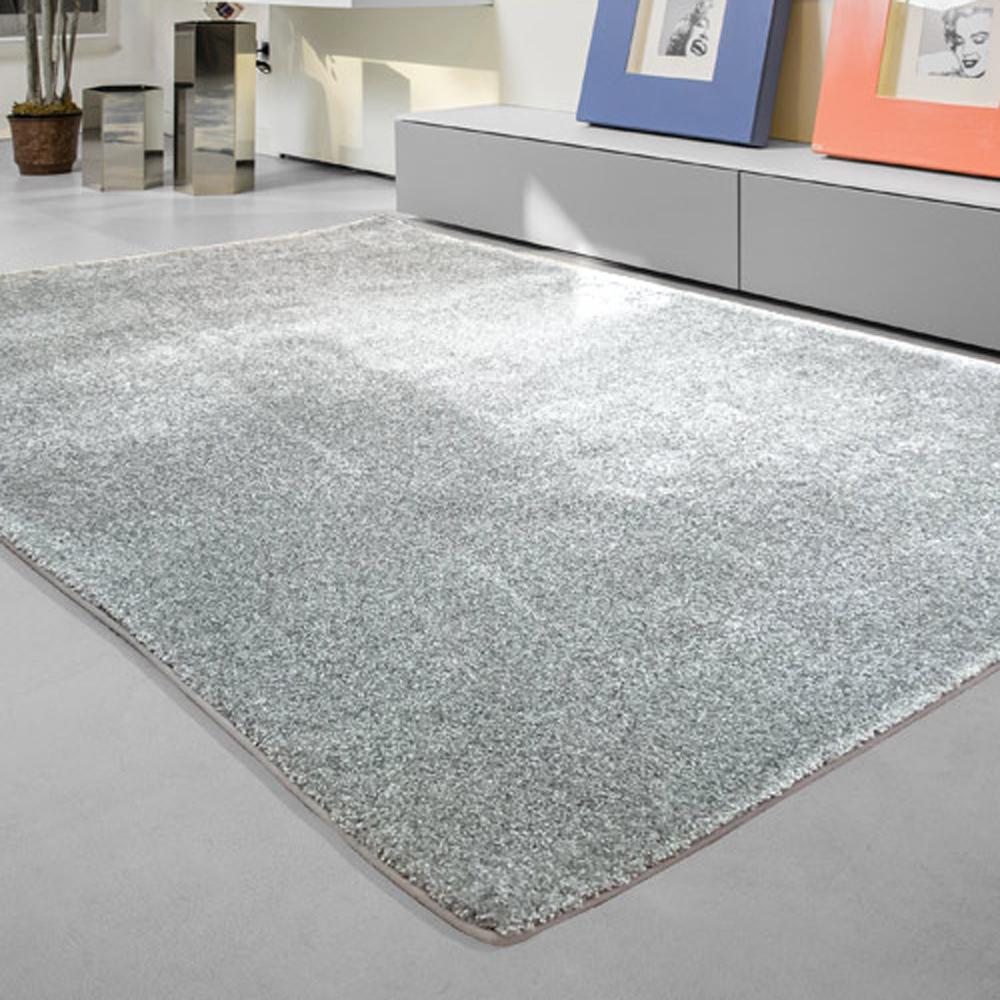 范登伯格 - 芙柔 超柔軟仿羊毛地毯 - 銀灰 (140 x 200cm)
