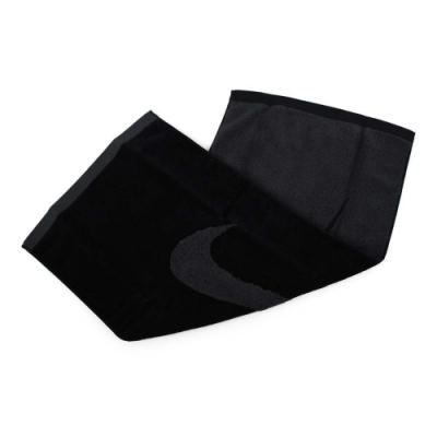 NIKE 運動毛巾-大 黑灰