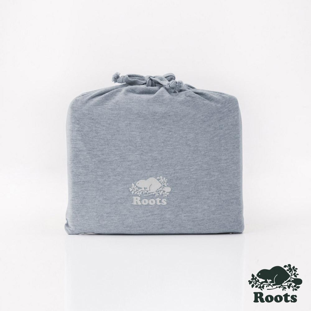 ROOTS有機棉雙人加大床包-灰 product image 1