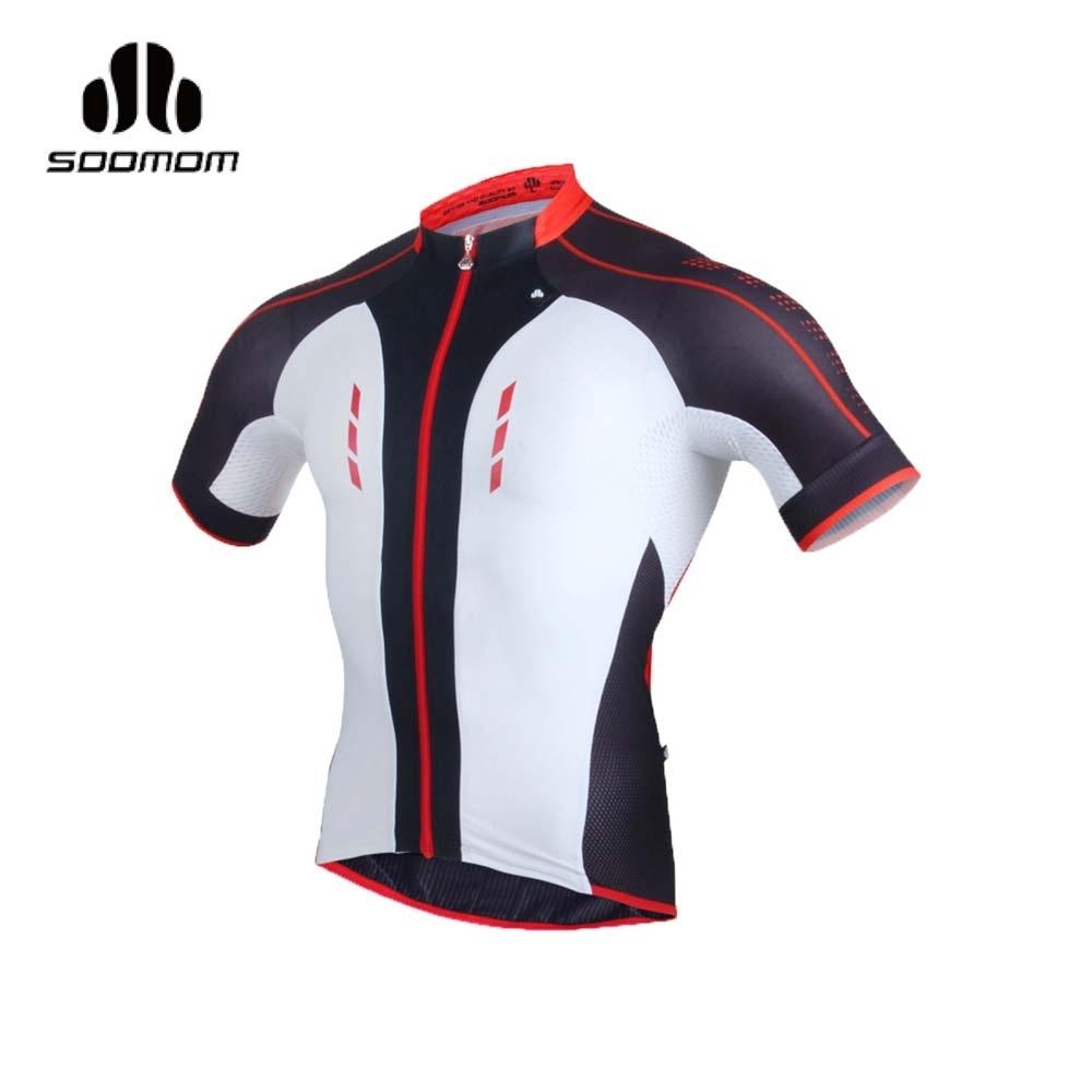 SOOMOM 男傳奇短車衣-自行車 速盟 紅黑白