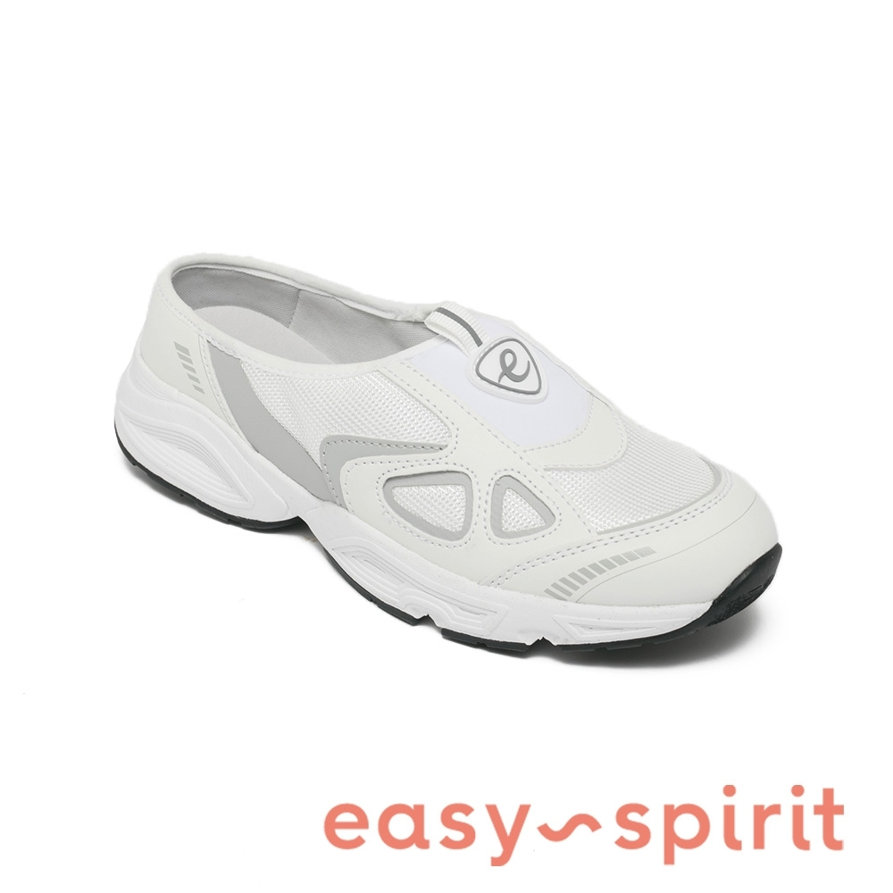 Easy Spirit-seGRAVITI3 運動美型休閒拖鞋-白色
