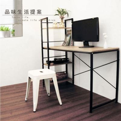 【樂活家】第三代可調式雙向書桌/層架電腦桌/工作桌/辦公桌120x52x122cm