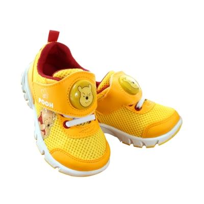魔法Baby童鞋 台灣製迪士尼小熊維尼正版閃燈運動鞋 電燈鞋 sk1080
