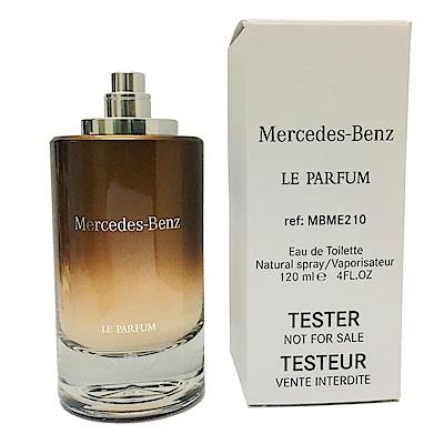 Mercedes Benz賓士 極致紳士男性淡香精120ML TESTER
