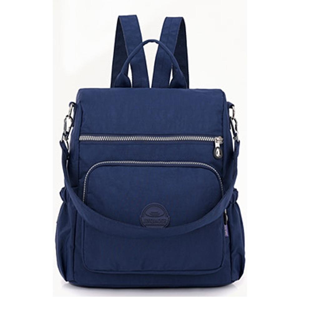 YS8631BU時尚輕便背包潮流大容量双肩包/後背包/側背包藍色