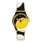 Swatch Bau 包浩斯系列手錶 D-FORM 圓點概念 -34mm
