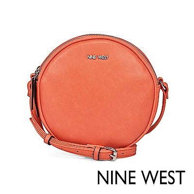 NINE WEST WHIMSY馬卡龍圓型斜背包-陽光橘(524169)