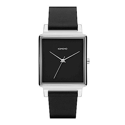 KOMONO Konrad 腕錶-紳黑