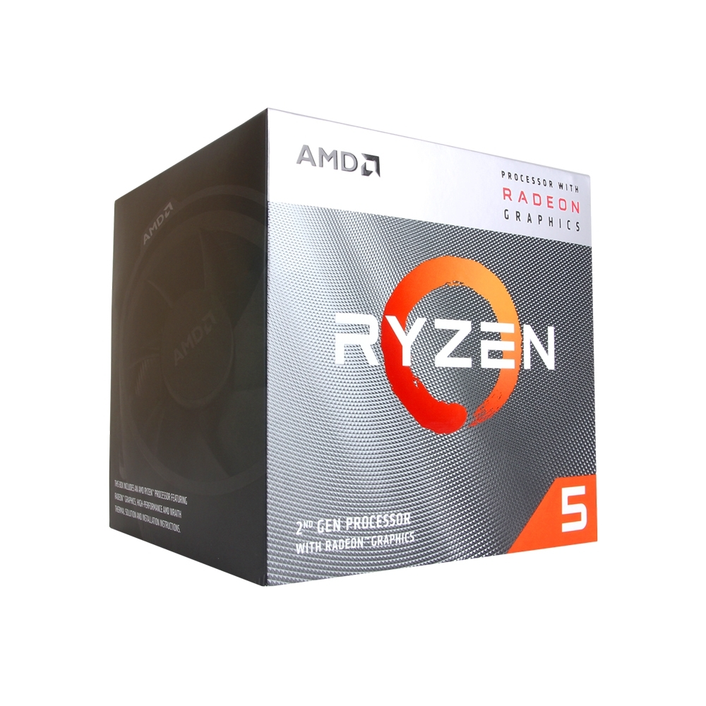 AMD Ryzen 5 3400G 四核心處理器《3.7GHz/AM4》 product image 1