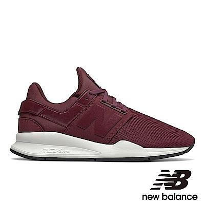 New Balance 復古鞋WS247UA女 深紅