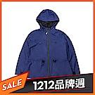Timberland 女款藍色顯瘦防水連帽派克大衣|B2109