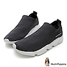 Hush Puppies Osprey 低筒襪套式針織休閒鞋(女)-灰
