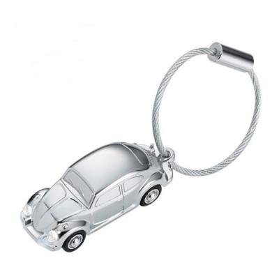 德國TROIKA福斯金龜車LED手電筒鑰匙圈KR16-40-CH吊飾