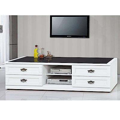 MUNA 羅拉特白色6尺電視櫃 175X52X51cm