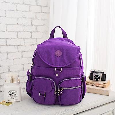 COUNT DUCK 美系悠活輕量後背包-CD-006-紫色