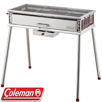 Coleman CM-35724 Pro酷蜘蛛風扇烤肉箱(附烤盤)/桌上烤架/烤爐/烤肉箱/小型烤架BBQ/公司貨