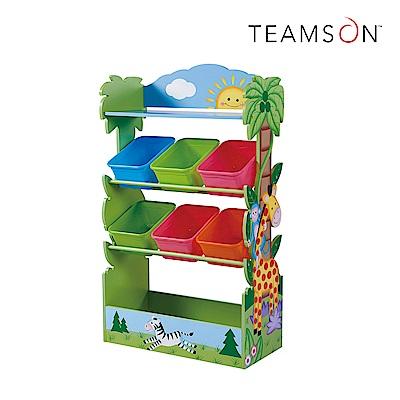 Teamson 童趣手繪木製玩具收納架 (2款)