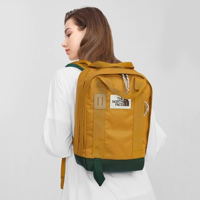 The North Face TOTE PACK 男女 後背包 卡其-NF0A3KYYYYK