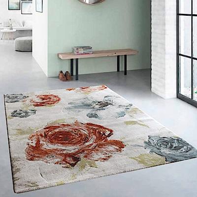 范登伯格 - 歐斯特 現代地毯 - 花朵 (80 x 150cm)