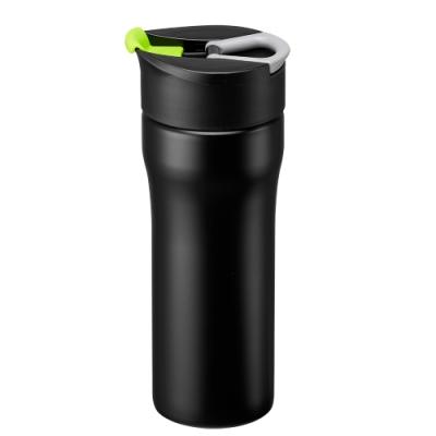 【PO:Selected】丹麥便攜法壓保溫咖啡杯16oz(綠)