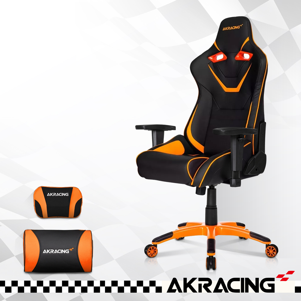 AKRACING_超跑電競椅頂級筒型款-GT555 月黑之時 大魔神