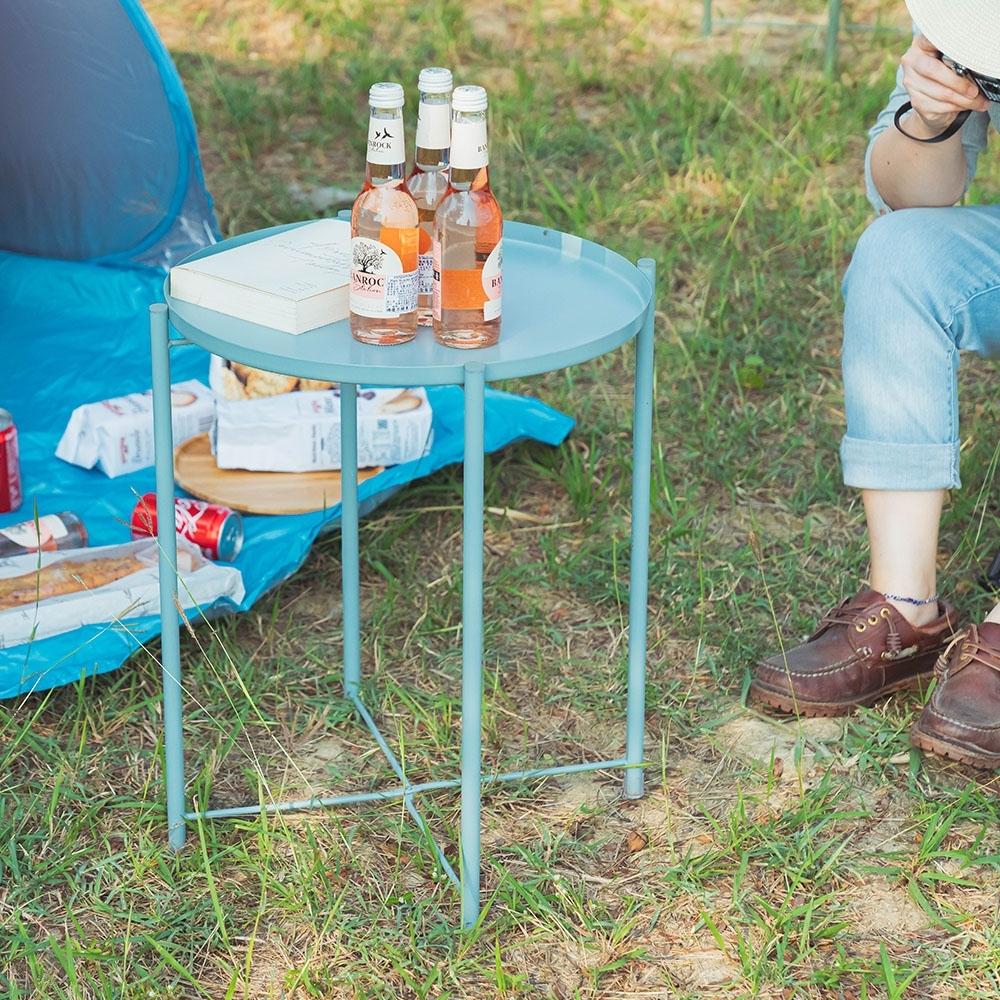樂嫚妮 北歐質感多用途托盤茶几桌/咖啡邊桌-7色