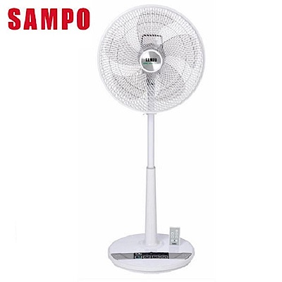 SAMPO 聲寶-14吋 微電腦遙控DC節能立扇 SK-FL14DR