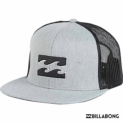 BILLABONG-ALL DAY TRUCKER棒球帽-灰黑
