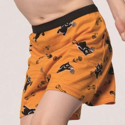 DADADO-熊尬有力 110-130男童內褲(橘) 品牌推薦-舒適寬鬆