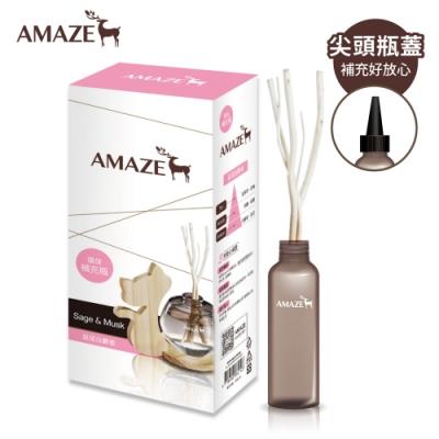 Amaze森林擴香 環保補充瓶-鼠尾白麝香(90ml/入)