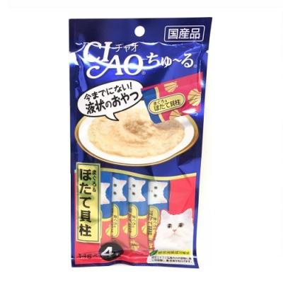 時時樂-日本 CIAO 啾嚕燒肉泥14g*4入或12g*4入-多口味可選