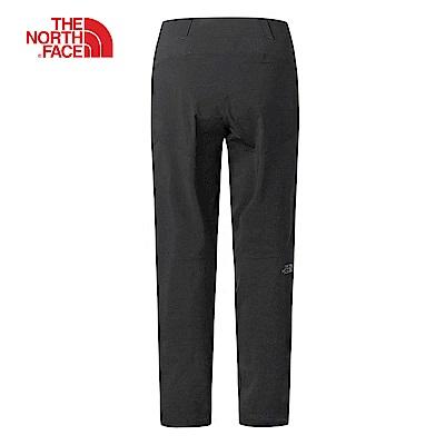 The North Face北面男款黑色防潑水登山長褲 3CH2KX7