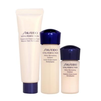 SHISEIDO資生堂 國際櫃 全效抗痕賦活露+乳+洗臉<b>3</b>件組