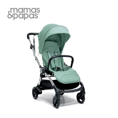 Mamas & Papas Airo 輕量秒收 可平躺 嬰兒手推車 0m+(薄荷綠)