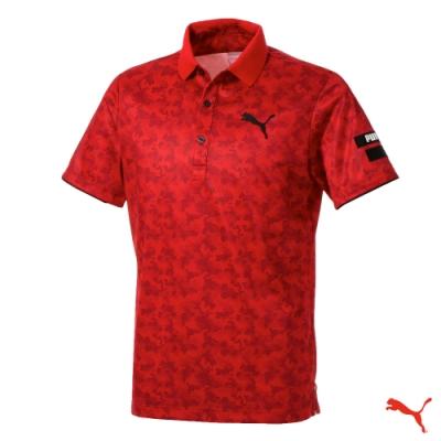 PUMA GOLF 男 高爾夫球系列短袖POLO(日本線) 923836 03