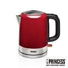 PRINCESS荷蘭公主1L不鏽鋼快煮壺/電熱水壺-璀璨紅236000R