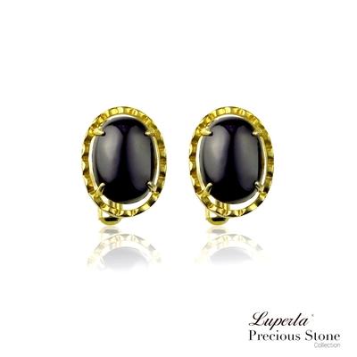 大東山珠寶 經典羅馬 仕紳系列 黑瑪瑙  西裝領徽 袖扣