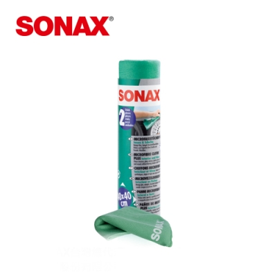 SONAX 玻璃內裝美容巾 德國原裝 超細纖維 不留痕跡-急速到貨