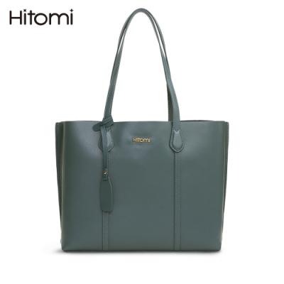 【Hitomi】知性莫蘭迪肩背/大托特包(莫蘭迪藍色12204BR)