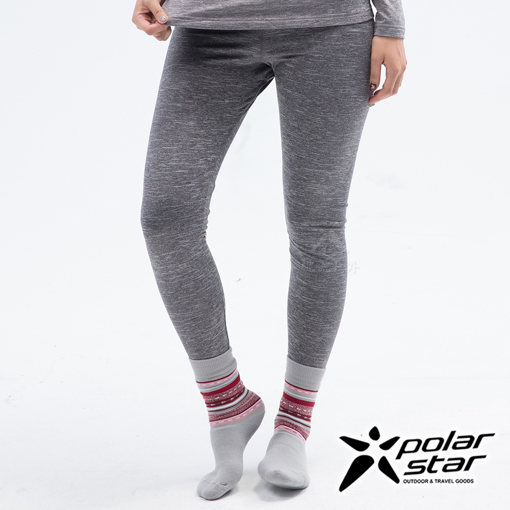 PolarStar 女 遠紅外線保暖褲『淺灰』 P18432