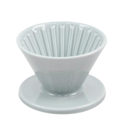 CAFEDE KONA 波佐見燒 HASAMI 時光陶瓷濾杯01-灰