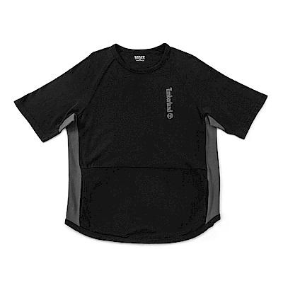 Timberland 男款黑色短袖 T 恤 | A1NIY001