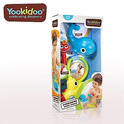 Yookidoo 以色列 洗澡/ 戲水玩具 - 噴水鯨魚蓮蓬頭套組