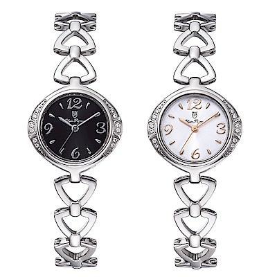OlymPianus奧柏表 古典美人晶鑽時尚鍊錶